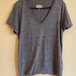 Grey Stud Shirt